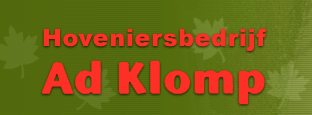 Hoveniersbedrijf Ad Klomp